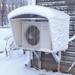 Una pompa di calore funziona anche con la neve?